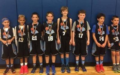 4th Grade Black – 10U Division Champions of FTG Performance League