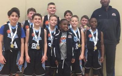4th Grade – 4th/5th Grade Division Champions of Thanksgiving Shootout