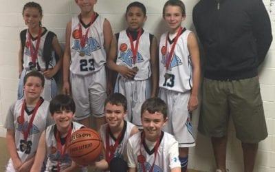 4th Grade – Champions of FTG Super Saturday Shootout