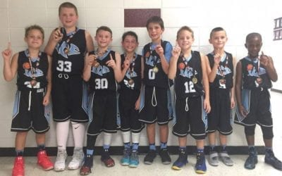 4th Grade White – 4th/5th Grade Division Champions of Trilogy Shootout