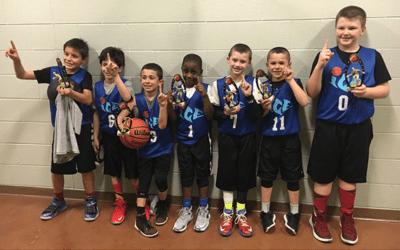 3rd Grade – 4th Grade Champions of Play Hard Hoops Winter Fest