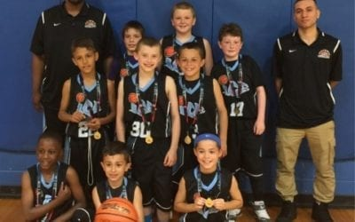 3rd Grade – Champions of Central AAU Super Regional