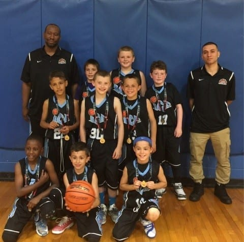 3rd Grade Champions Of Central AAU Super Regional