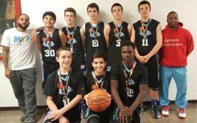 8th Grade Blue – Champions of FTG Super Saturday Shootout