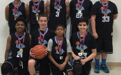 8th Grade Blue – Champions of Play Hard Hoops Superstar Challenge
