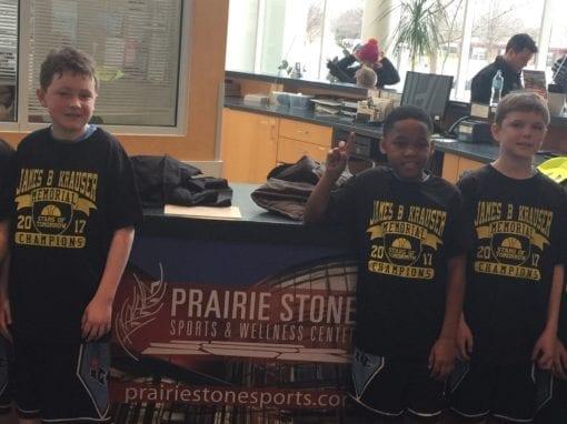 4th Grade Black – Champions of James B Krauser Memorial Shootout