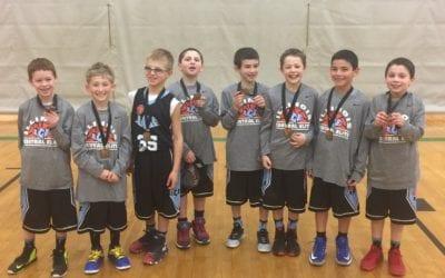 3rd Grade Black – Champions of FTG Xplosion Saturday Shootout at Waukegan Fieldhouse