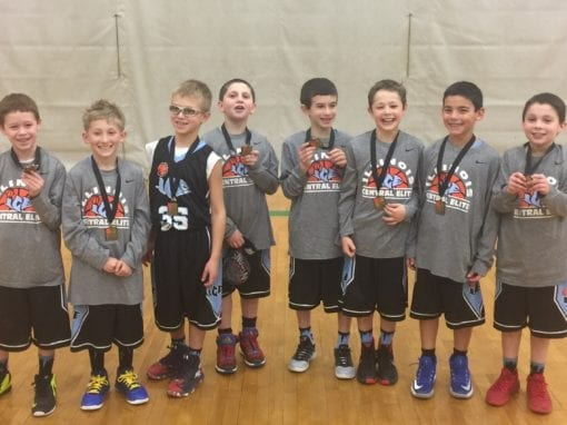3rd Grade Black – Champions of FTG Xplosion Saturday Shootout at Waukegan Fieldhouse