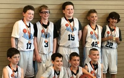 4th Grade White – Champions of FTG Midwest Challenge Spring Sunday Shootout