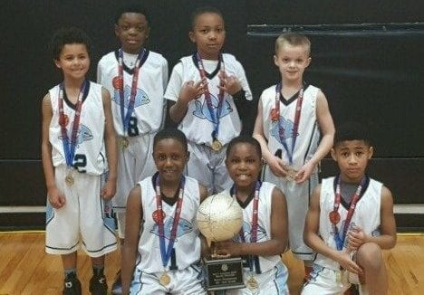 2nd Grade – Central AAU State Champions