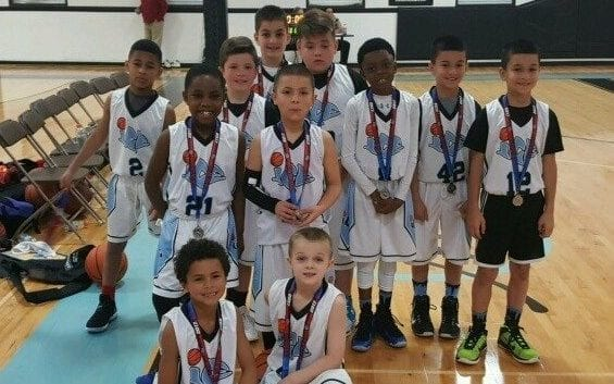 3rd Grade White – 2nd Place at Central AAU District Qualifier
