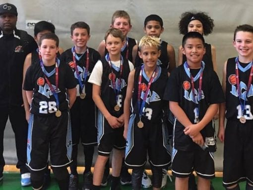 5th Black – 2nd Place in 11U-5th Grade Central AAU District Qualifier
