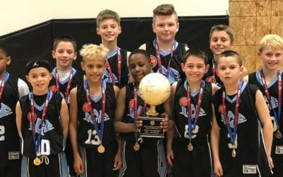 4th Grade Black – Central AAU State Champions