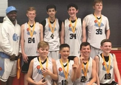 7th Grade White – Champions of FTG Xplosion Sunday Shootout