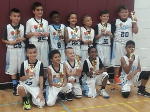 3rd Grade White – Champions of Playhard Hoops Spring Slamfest