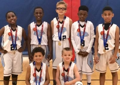 2nd Grade – Champions of Central AAU Super Qualifier