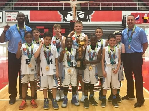 4th National Team – 10U AAU National Champions DII