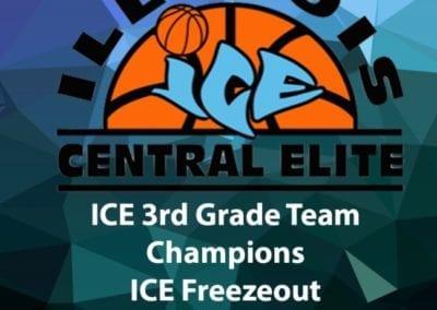 3rd Grade Division Champions - Illinois Central Elite-ICE