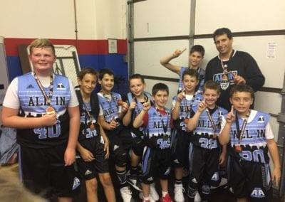 5th Grade B-Division Champions - AIA Kostas