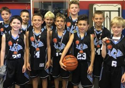 5th Grade A-Division Champions - Illinois Central Elite-ICE Black