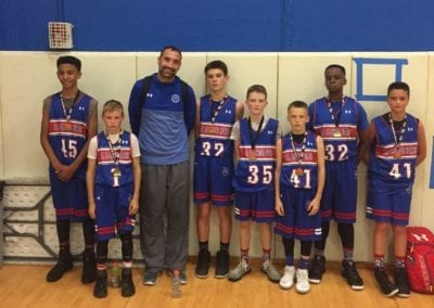 6th/7th Grade B-Division Champions - IBA Patriots