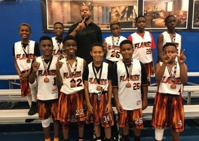 6th Grade A-Division Champions - Ball Like Me Flames