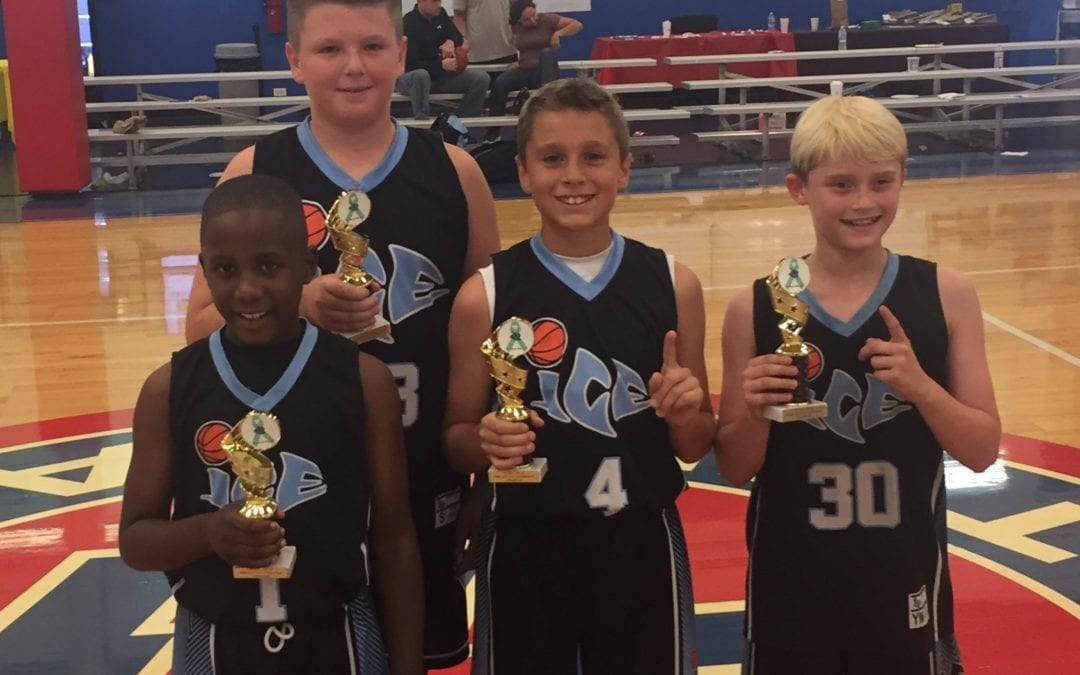 ICE Champions Of The Rana Lou 3 on 3 Tournament 4th-5th Grade Division