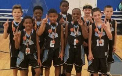 4th Grade White – Champions of 2017 Halloween Classic in 5th Division