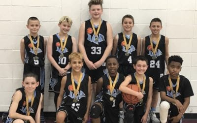5th Grade Black – Champions in the 6th Grade Division of FTG Fire & Ice Shootout
