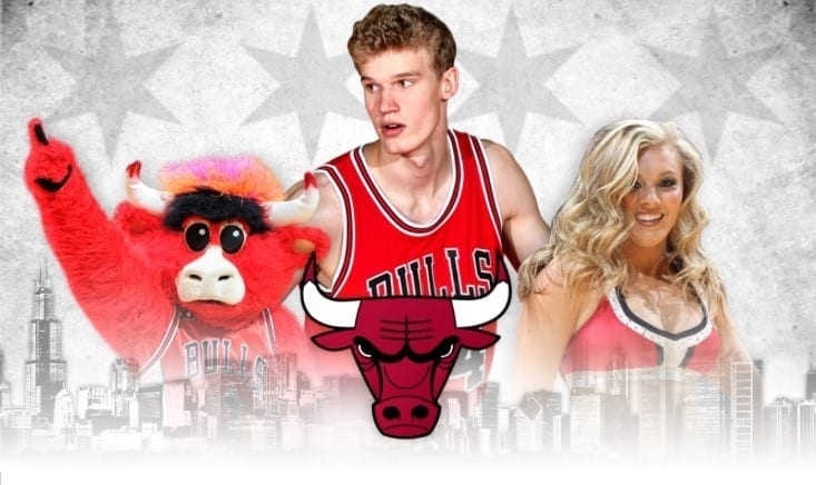 Central Illinois AAU Night With The Chicago Bulls