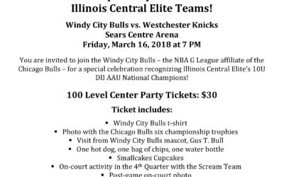 Illinois Central Elite – ICE National Championship Celebration For All Illinois Central Elite Teams!