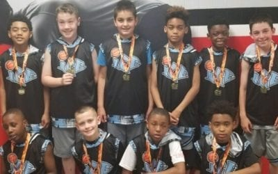 4th Grade Elite – Champions of 5th Grade Division in FTG-Xplosion Sunday Shootout