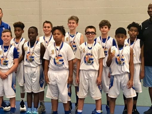 5th Grade White Far-North Gurnee Demons – Champions Of FTG-Xplosion Sunday Shootout