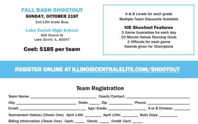 ICE Fall Bash Shootout – Sunday October 21st, 2018