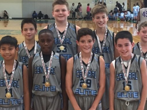 6th Grade Grey – Champions in 6th-7th Grade Division Of FTG-Fall Kickoff Shootout