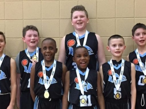 4th Grade White – Champions of One Day Shootout Valentine's Classic