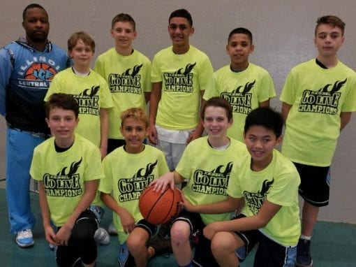 6th Grade Black – Champions of GO-LIVE Sunday Shootout