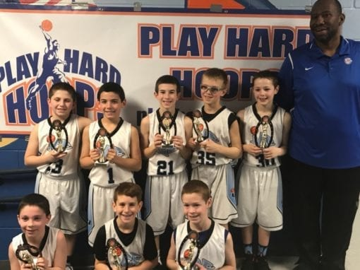 4th Grade Black – Champions Of Play Hard Hoops Feeder League Regular Season