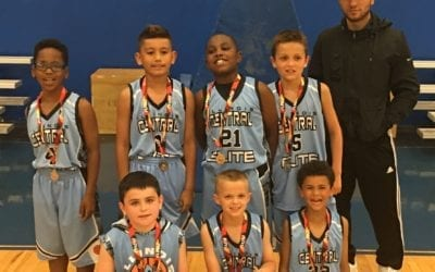 3rd Grade – 2nd Place Finish in Central AAU-Chicago Stats Friday Night League
