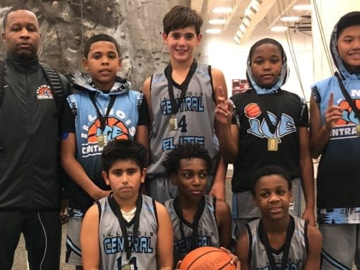 7th Grade Carolina Blue – Champions Of FTG-Red Challenge Saturday Shootout