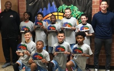 5th Grade Grey – Champions of NY2LA Generation Next Tip-Off Tournament
