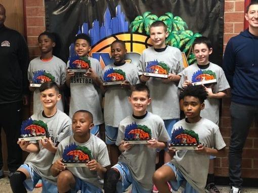 5th Grade Grey – Champions of NY2LA Generation Next Tip-Off Tournament