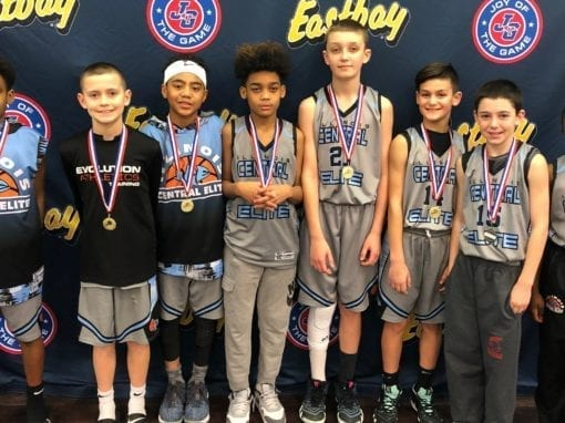 5th Grade Grey – Champions Of CYBN Saturday Super Bowl Shootout Of 5th-6th Grade Division