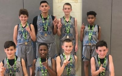 5th Grade Grey – Central AAU State Champion & AAU National Qualifier