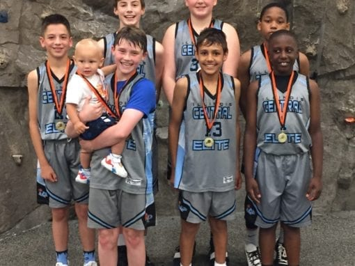 6th Grade Grey – Champions in 7th Grade Division in FTG-Father's Day Shootout