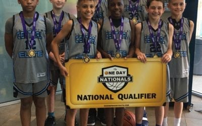6th Grade Grey – Champions in 7th Grade Division in One Day Shootout Border Wars